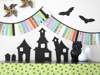 Paper Halloween Display Design Sprinkle