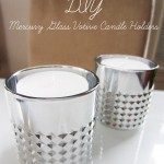 DIY Mercury Glass Votive Candle Holders