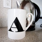 DIY Monogrammed Cup