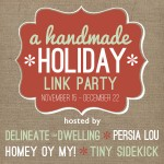 A Handmade Holiday Link Party
