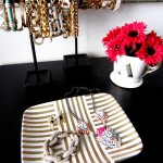 DIY Gold Leaf Jewelry Tray
