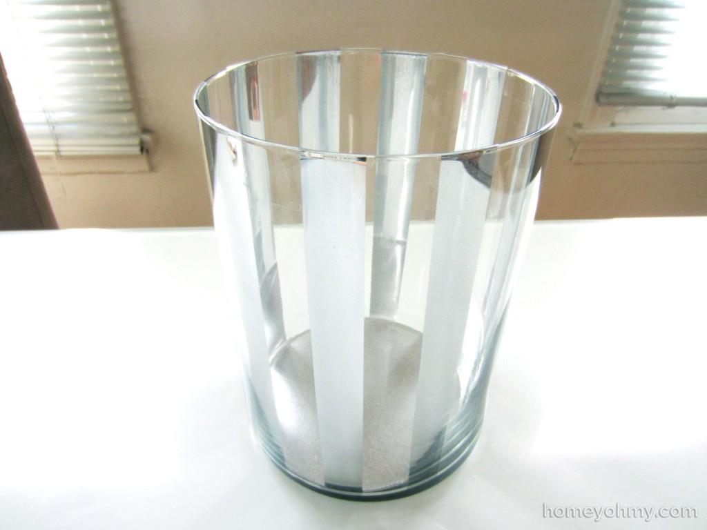 Mercury Glass Stripes