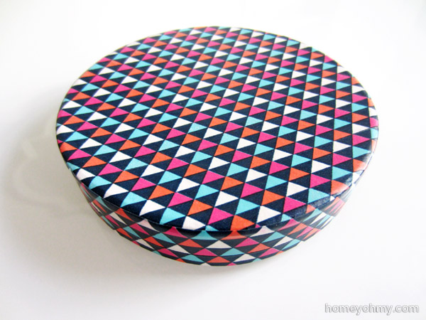 Washi tape box lid