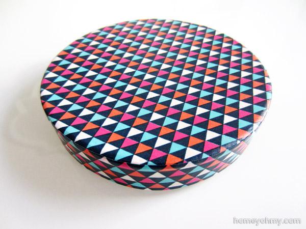 Washi tape box lid