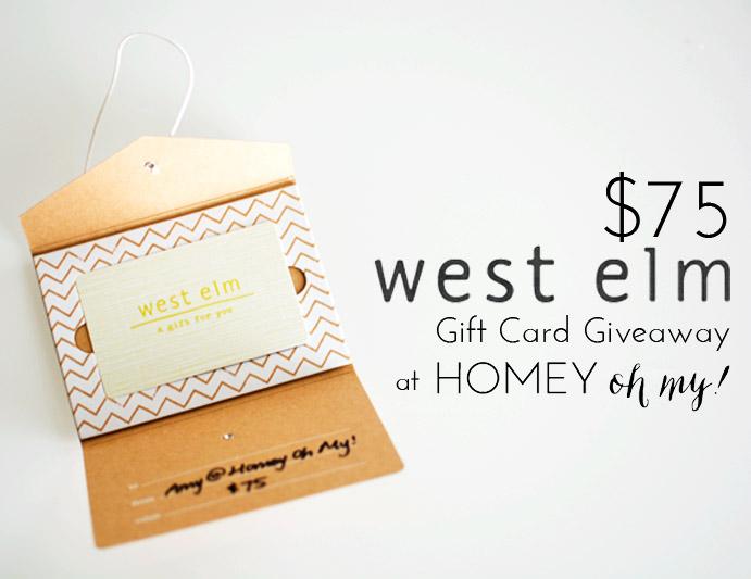 West Elm Giveaway