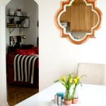 DIY Copper Leaf Mirror