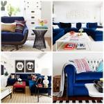 Blue Velvet Couches