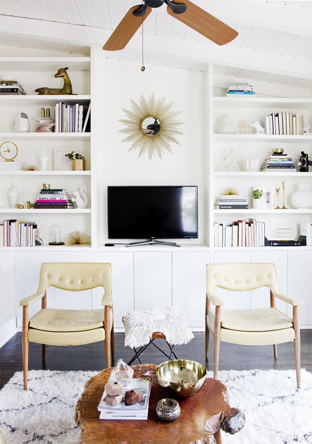 Smitten Studio built in shelves