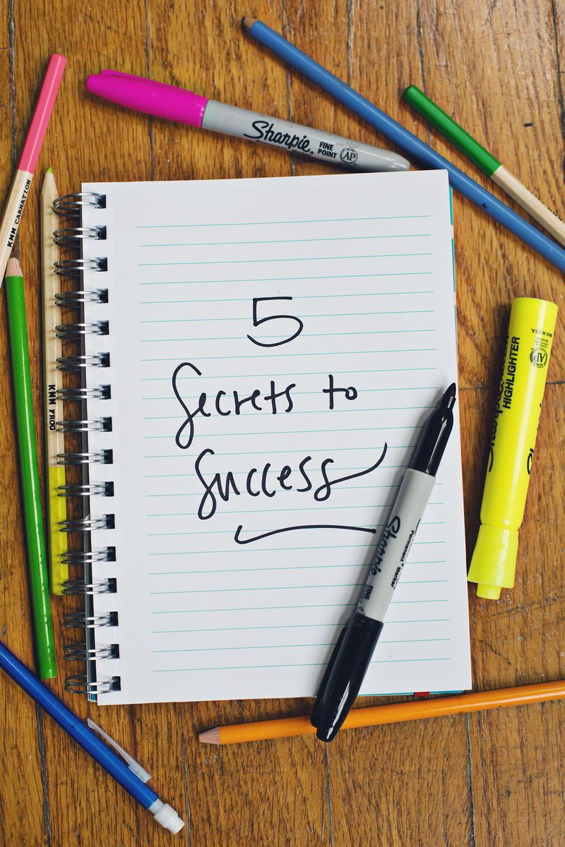 5 Secrets to Success