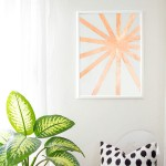 DIY Copper Wall Art