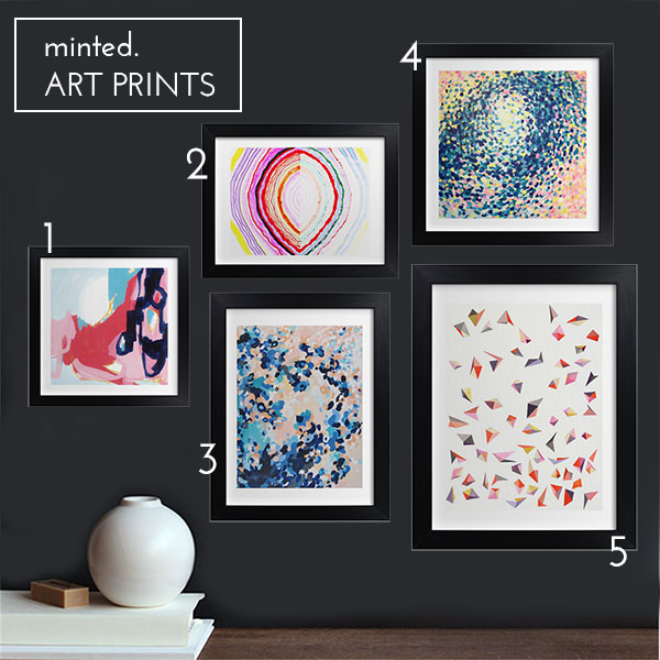 Minted Art Prints numbered