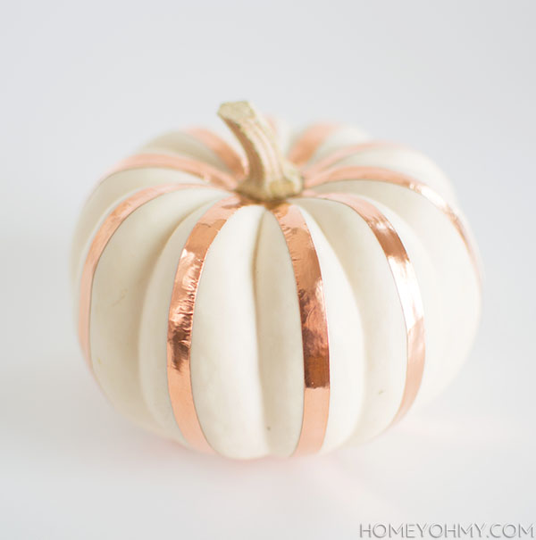 Copper Striped Pumpkin