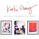 Katie Craig Art Giveaway