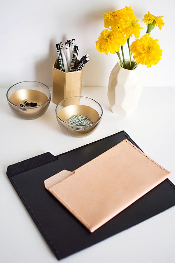 Leather File Folders