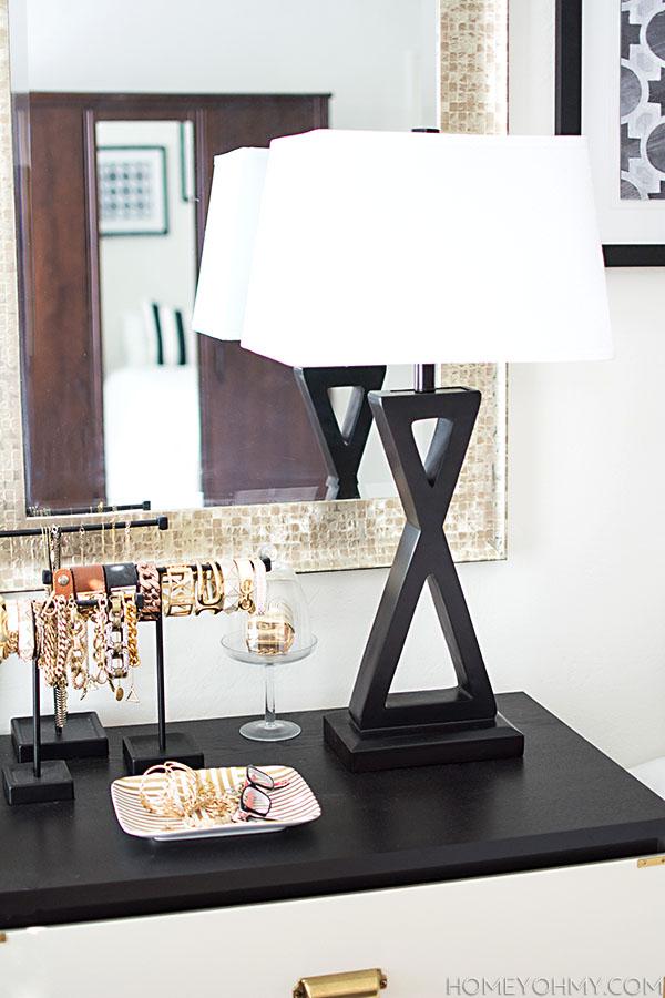 Modern X Lamp
