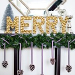 DIY Merry Sign- Merry Mag