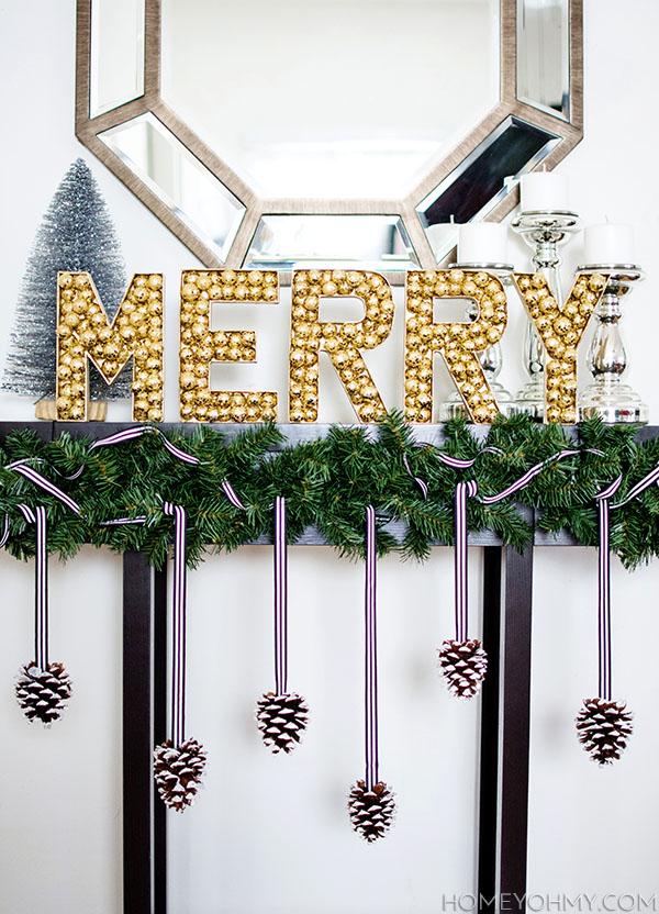 DIY Merry Sign
