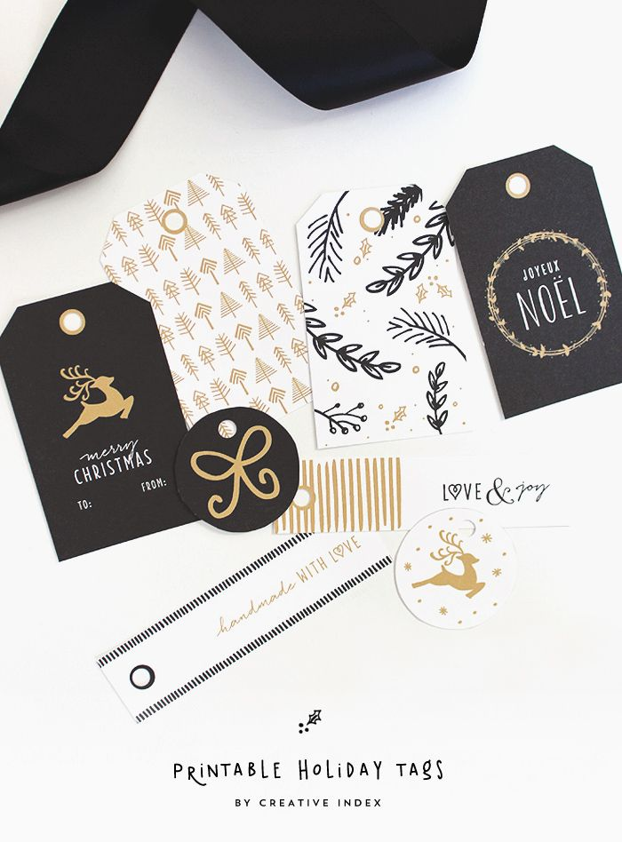 Holiday Tags from Creative Index