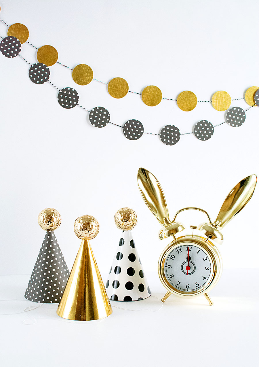 Sequin Ball Mini Party Hats