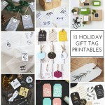 13 Holiday Gift Tag Printables