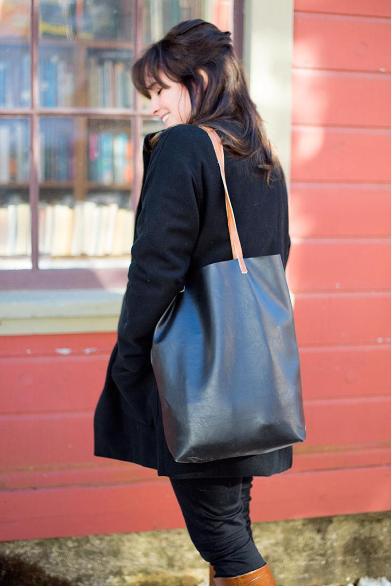 DIY Leather Tote Bag