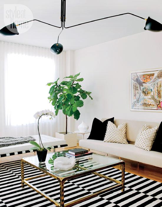 modern neutral living room
