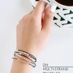 DIY Multi-Strand Bracelet