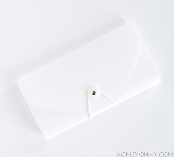 White File Folder