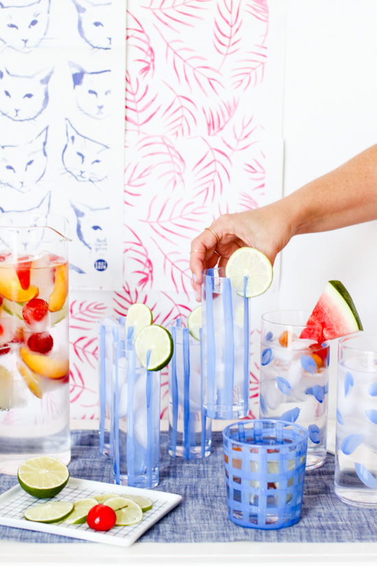 simple-cocktails-with-hand-painted-glassware-2