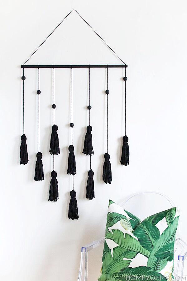 Modern Tassel Wall Hanging