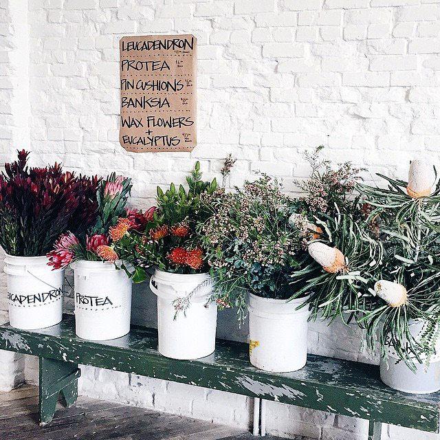 Gjusta Bakery flowers