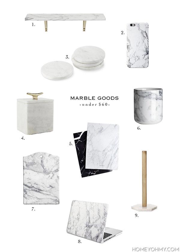 marble goods