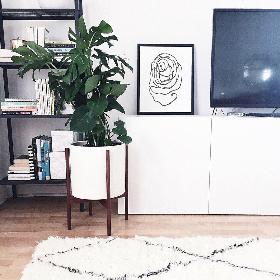 living room corner