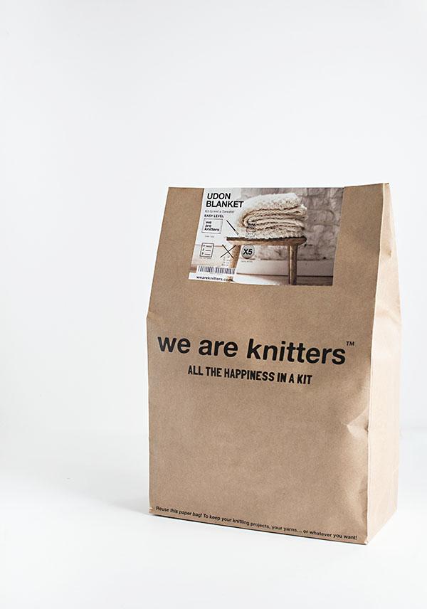 Udon Blanket Knitting Kit