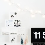 DIY Mini Photo Christmas Tree