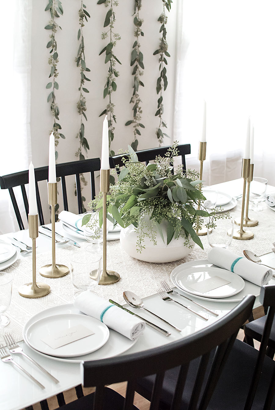Thanksgiving tablescape - Homey Oh My!