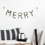 DIY Merry Pine Garland