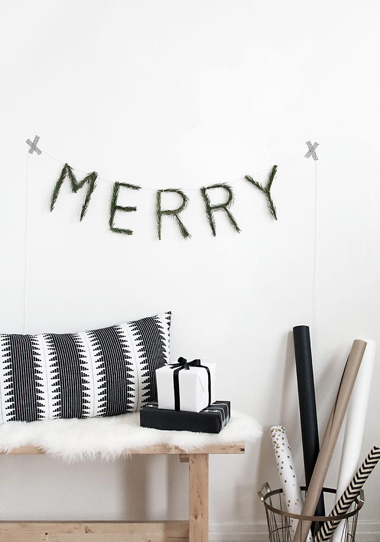 Merry Pine Garland