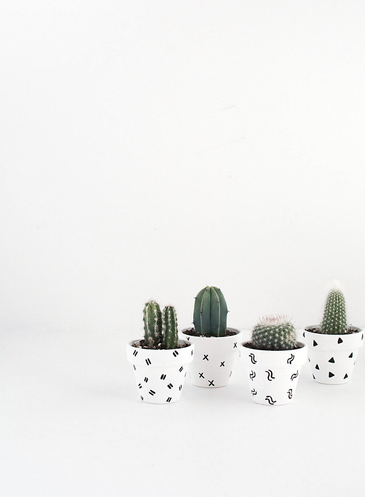 DIY Mini Patterned Plant Pots-2