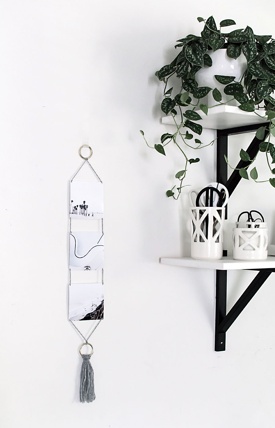 DIY - Modern Photo Wall Hanging