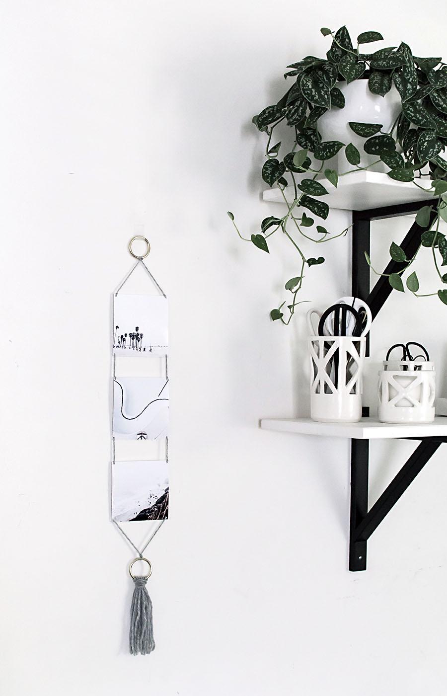 DIY - Modern Photo Wall Hanging