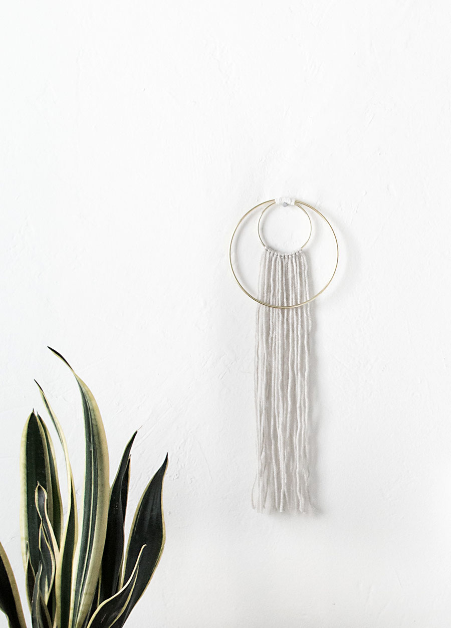 Double Ring Wall Hanging - DIY