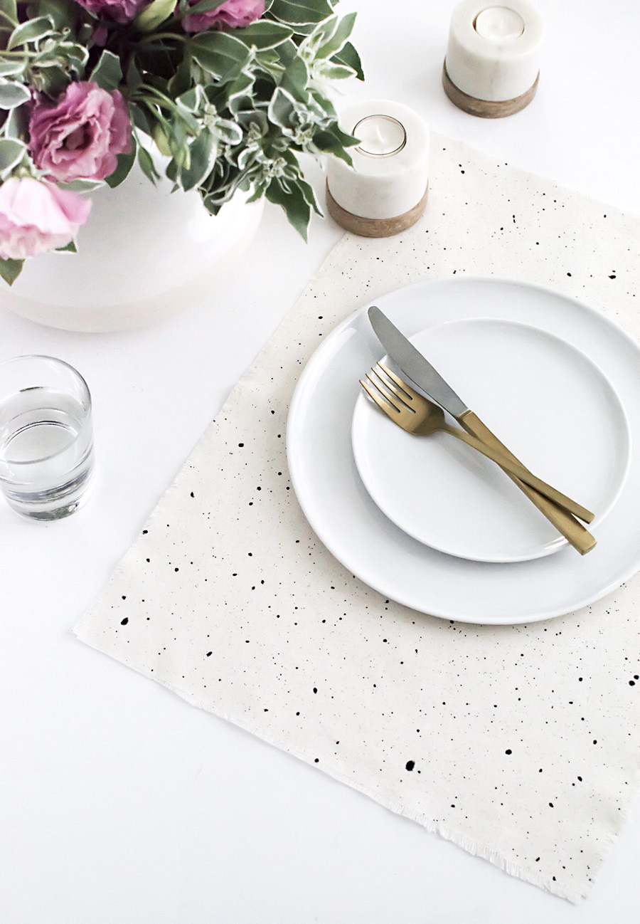 Speckled Placemats DIY-2