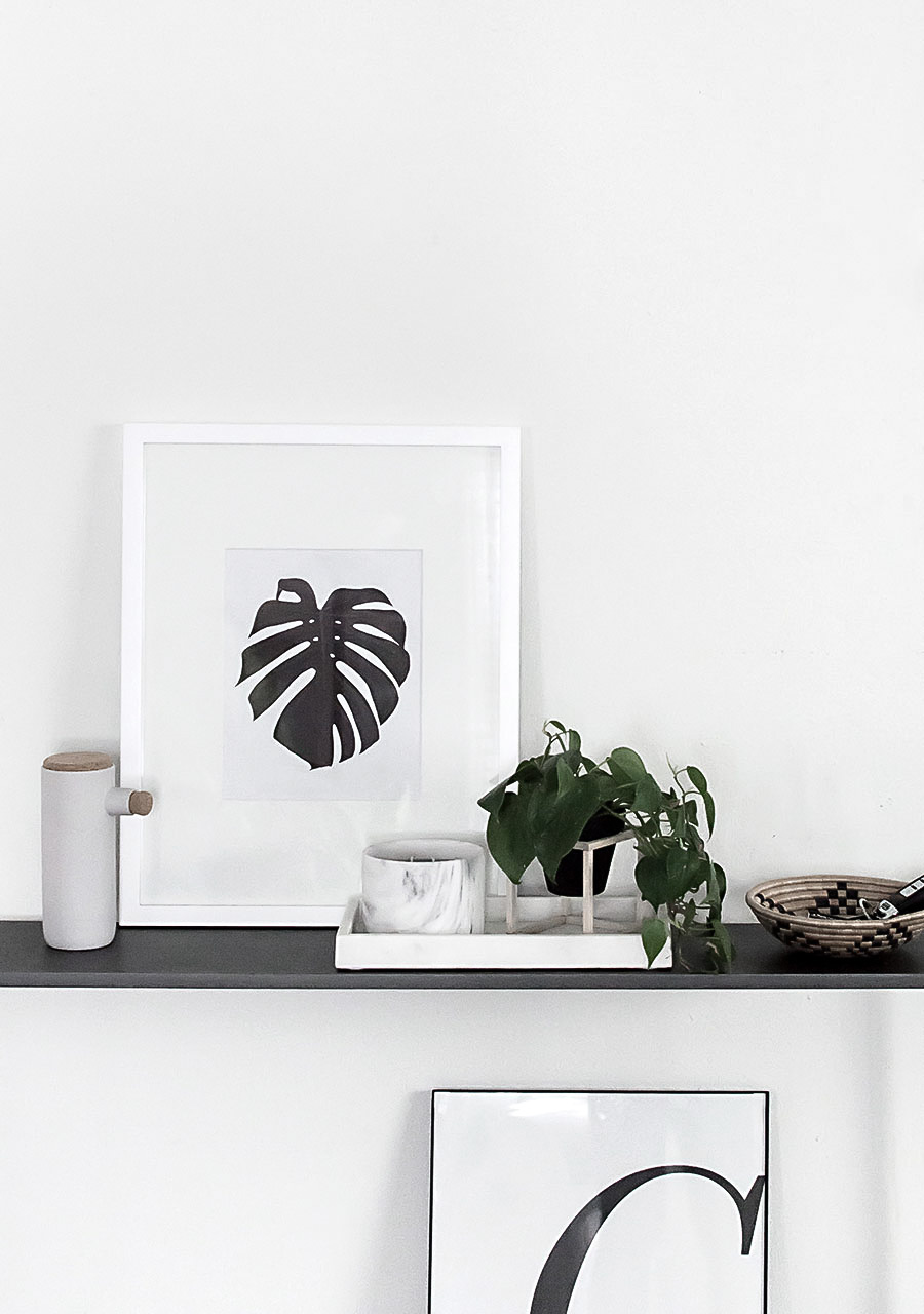 Monstera Art Printable