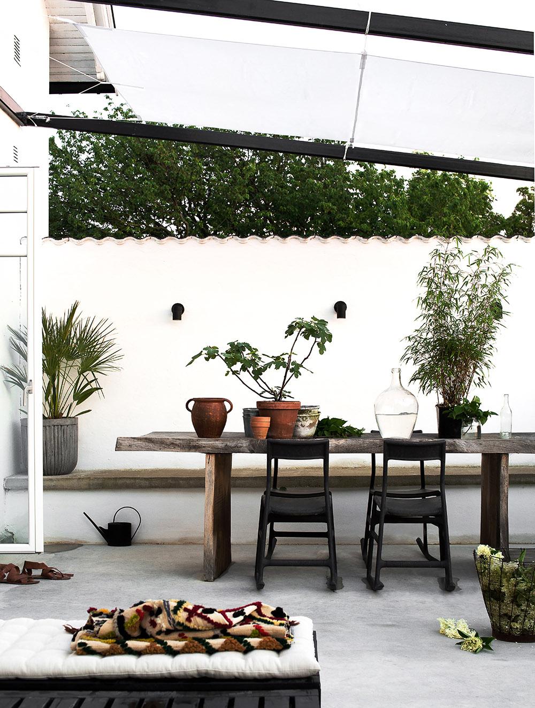 organic backyard