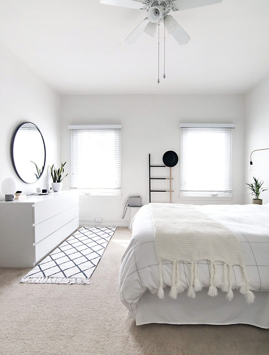 Minimal Scandinavian Bedroom