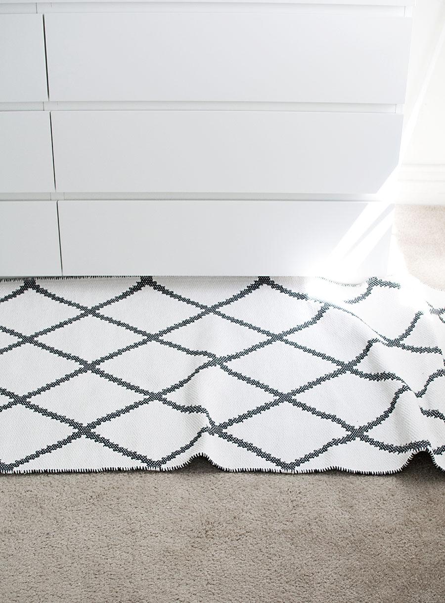 rug before