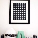 DIY Graphic Circle Wall Art