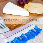 DIY Tassel Tea Towel