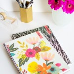 DIY Decorated Notebooks with Labels- PBteen Stylehouse